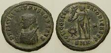 045. Roman Bronze Coin. CRISPUS. AE-Follis. Cyzicus. Jupiter. aVF