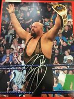 THE BIG SHOW SIGNED 11x14 PHOTO WWE RAW WRESTLEMANIA PROOF