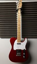 2011 SQUIER BY FENDER AFFINITY TELECASTER TELE CANDY APPLE RED ELECTRIC GUITAR