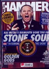 METAL HAMMER MAGAZINE + CD + POSTERS AUGUST 2017 (STONE SOUR, CHRIS CORNELL) NEW