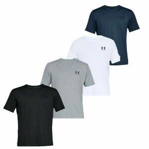 Under Armour Mens TShirt Cotton T Shirt Sportstyle Gym Running  UA Top T-Shirt