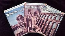 Wonders of the Past Magazines 7, 8 & 9 by Sir JA Hammerton 1933 Paperback