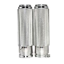 BIG DOG Handle Bar Grips Polished Knurled Grips
