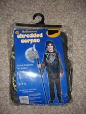 Shredded Corpse Halloween Costume youth boy's girl's Small M 8/10
