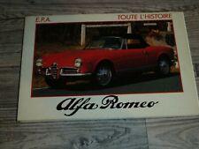 ALFA ROMEO - Toute L'Histoire - E.P.A. - französisch - 1984