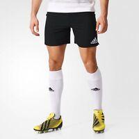 SALE adidas Classic 3 Stripe Rugby Shorts Gym Sports Football Running Mens