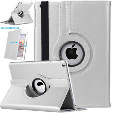 New Leather 360 Degree Rotating Smart Stand Case Cover For All Apple iPad Models