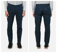 AMI Alexandre Mattiussi Men's Navy Blue Chino Pants Sz Medium / 40