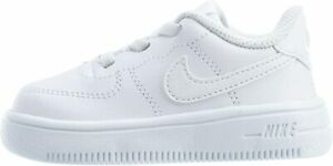 Nike Force 1 18 TD AF1 One Low Toddler Infant Baby Shoes Sneakers white white