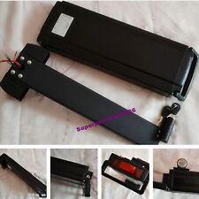 36V 10Ah Li-ion battery flat type Aluminum case for e-bike electric bicycle EB
