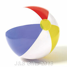 """New Inflatable Blow up Panel Beach Ball 20"""" 51cm Swimming Party Fun For Holiday"""