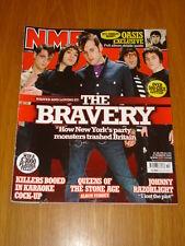 NME 2005 MAR 12 BRAVERY OASIS KILLERS RAZORLIGHT