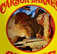 Very Rare Vintage Carson & Barnes Circus Children's Program ~ Mint Condition