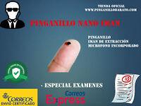 Pinganillo Nano Iman con microfono 3mm (EXAMENES o SELECTIVIDAD) indetectable