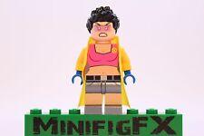 Lego JUBILEE Custom Machine Printed Minifig Marvel X-Men Mutant Jubilation Lee