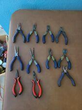LOT OF 11 Kobalt Assorted Pliers Set