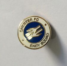 "CHESTER CITY Football Club Badge FC Non League CREW ""BABY SQUAD"" CASUALS Pin 3"
