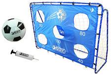 Best Sporting Fußballtor Set 11087 mit 5 Schusslöcher Torwand Ball und Pumpe