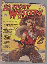 10 Story Western April 1946 Pulp Tom W. Blackburn Roan Toland Chadwick Ketchum