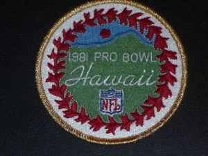 1981 NFL FOOTBALL PRO BOWL PATCH  RANDY WHITE, BARTKOWSKI