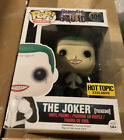 Funko Pop #  109 Joker Tuxedo Suicide Squad Hot Topic Exclusive VG Box