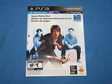 PlayStation Move Game Demo Disk (Playstation 3 PS3) - Brand New!