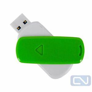 Lot of 2 128GB USB 2.0 Lexar Green Thumb Flash Stick Drive PC