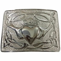 Details about  /HW Scottish Kilt Belt Buckle Celtic Tree of Life Circular Chrome//Antique Finish