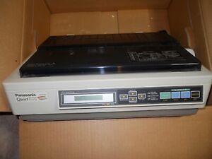 Vintage Panasonic KX-P2124 Quiet Printing 24 Pin Dot Matrix 4 color Printer