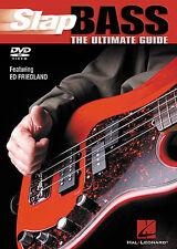 BASS GUITAR DVD Play SLAP Learn To Play Tutor Lesson