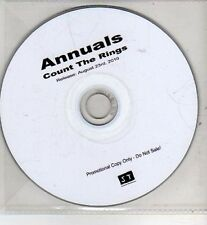 (CI160) Annuals, Count the Rings - 2010 DJ CD
