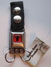 Amazing Spider-Man Buckle-Down Seat belt Key Chain Marvel Comics NEW (0136) RED