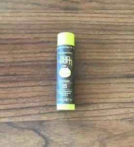 Sun Bum PINEAPPLE Lip Balm 4.25g SPF15 With Aloe Vera & Vitamin E NEW