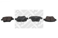 Bremsbelagsatz, Scheibenbremse MAPCO 6959 hinten für AUDI SEAT SKODA VW