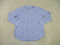 Peter Millar Button Up Shirt Adult Extra Large Blue Purple Seaside Finish Mens