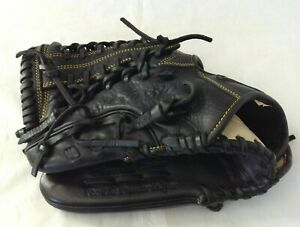 Mizuno Black Throwback Leather For the Premier Player Baseball Glove 12.75inches