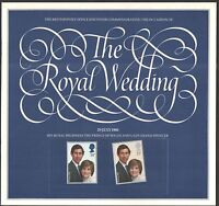 THE ROYAL WEDDING 1981 STAMP SOUVENIR BOOK CHARLES & DIANA