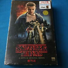 Stranger Things Season 1 Collector's Edition: (Blu-ray + DVD) VHS Case + Poster