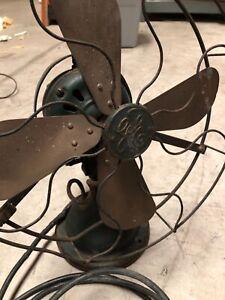 Vintage 1900s GE Electric Fan Antique