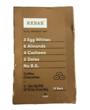 RXBAR, Coffee Chocolate, Protein Bar, 1.83 Ounce (Pack of 12), High Protein