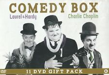 Comedy Box : Laurel & Hardy and Charly Chaplin (11 DVD)