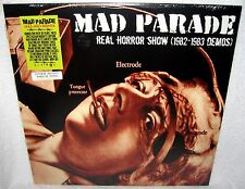 MAD PARADE Real Horror Show LP PUNK ROCK Limited Pressing COLOR VINYL Demos Rare