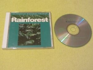 Authentic Natural Sounds Rainforest CD Album Relax With Nature 10 Chillout