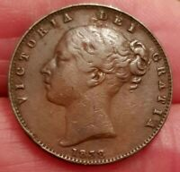 1838-1859 VICTORIA YOUNG HEAD LARGE FARTHING CHOOSE THE ACTUAL COIN SPINK 3950
