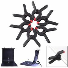 6pcs Photo Studio Clips Spring Clamps for Photography Background Stand Clips BT