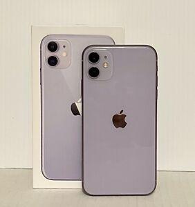 Apple iPhone 11 - 64GB - Purple (Unlocked) A2111 CDMA-GSM ((NO FACE ID))