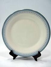 "Royal Doulton China Salad Plate 8"" Lorraine H5033 White Blue Silver Rim"