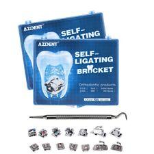 New Listingdental Orthodontics Self Ligating Brackets Brace Amp Buccal Tube Roth 022 345 Hook