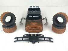 "Ford F150 1:16 HARD BODY Shell New Bright Rock Crawler Mudslinger 12"" LONG"