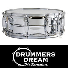 Ludwig 14 x 5 'Chrome Over Brass' Snare Drum Chrome Plated Brass Shell RRP